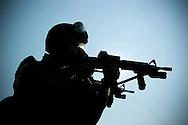 York County Quick Response Team (QRT) gas mask qualifications..2007.John A. Pavoncello/Pho-tac.com