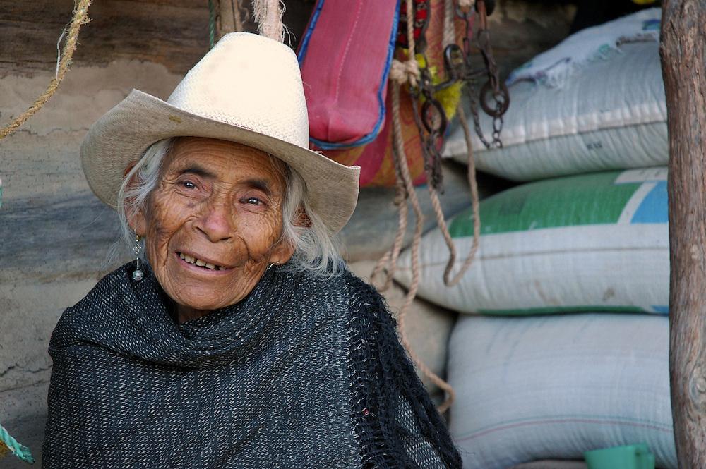 "..""An elderly farmer in Santiago Apoala"""