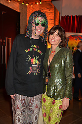 DAVID & SAMANTHA KESWICK at A Night of Reggae in aid of Save The Children held at The Roundhouse, Chalk Farm Road, London NW1 on 12th March 2014.