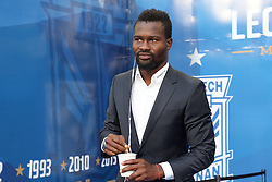 29.07.2015, INEA Stadion, Poznan, POL, UEFA CL, Lech Poznan vs FC Basel, Qualifikation, 3. Runde, Hinspiel, im Bild ABDUL AZIZ TETTEH SYLWETKA PORTRET // during the UEFA Champions League Qualifier, third round, first Leg match between Lech Posen and FC Basel at the INEA Stadion in Poznan, Poland on 2015/07/29. EXPA Pictures © 2015, PhotoCredit: EXPA/ Newspix/ Wojciech Klepka<br /> <br /> *****ATTENTION - for AUT, SLO, CRO, SRB, BIH, MAZ, TUR, SUI, SWE only*****