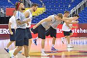 Descrizione : Berlino Eurobasket 2015 - Italia<br /> Giocatore : Gruppo<br /> Categoria : Allenamento<br /> Squadra: Italy<br /> Evento : Eurobasket 2015<br /> Gara : Berlino Eurobasket 2015 - Allenamento<br /> Data: 05-09-2015<br /> Sport: Pallacanestro<br /> Autore: Agenzia Ciamillo-Castoria/I.Mancini<br /> Galleria : FIP Nazionale 2015<br /> Fotonotizia: Berlino Eurobasket 2015 - Allenamento