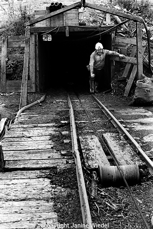Salters Lane Drift Mine, or footerall  Stock-on-Trent, North Staffordshire The West Midlands UK 1978