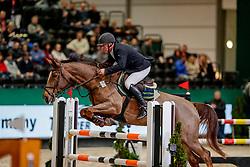 MOELLER Joerg (GER), Darling<br /> Leipzig - Partner Pferd 2020<br /> Stechen<br /> TRAVEL CHARME Hotels & Resorts PARTNER PFERD CUP <br /> Finale <br /> Springprüfung mit Stechen, national<br /> 16. Januar 2020<br /> © www.sportfotos-lafrentz.de/Stefan Lafrentz