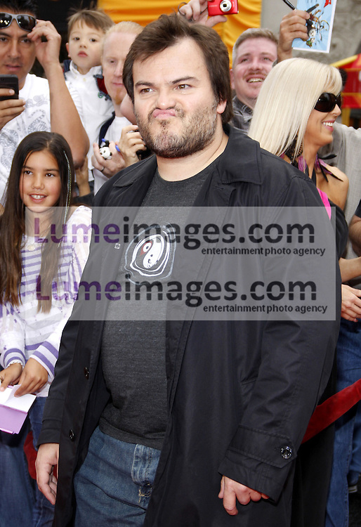 Jack Black at the Los Angeles premiere of 'Kung Fu Panda 2' held at the Grauman's Chinese Theater in Hollywood, USA on May 22, 2011.