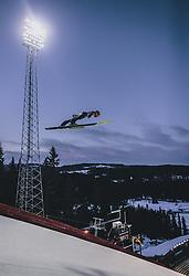 11.03.2020, Granasen, Trondheim, NOR, FIS Weltcup Skisprung, Raw Air, Trondheim, Herren, im Bild Philipp Aschenwald (AUT) // Philipp Aschenwald of Austria during men's 3rd Stage of the Raw Air Series of FIS Ski Jumping World Cup at the Granasen in Trondheim, Norway on 2020/03/11. EXPA Pictures © 2020, PhotoCredit: EXPA/ JFK