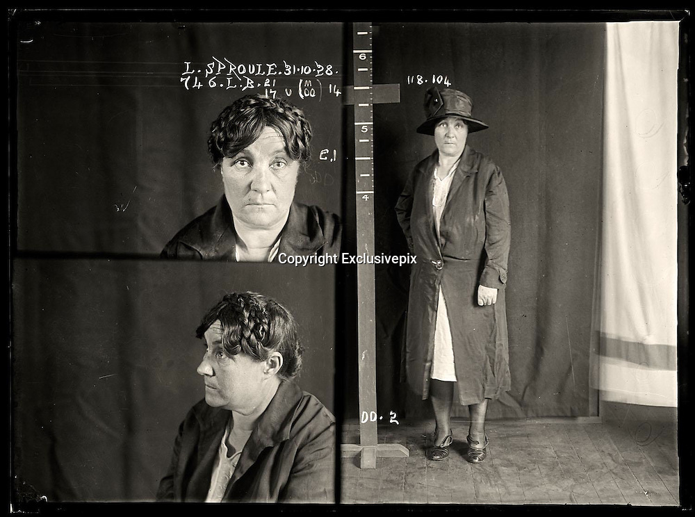 The barber shop slasher, the back-street abortionist and the 'parasite in a skirt': Vintage Australian mugshots reveal some of the country's earliest women criminals<br /> <br /> Haunting images of the past have emerged, showing vintage black and white portraits of Australian women.<br /> But these are no ordinary women. These are the not-so-innocent faces of convicted criminals who were put behind bars from the 1880s to 1930s.<br /> Among them include the infamous razor gangster and prominent madam of the times - Matilda 'Tilly' Devine.<br /> Others include backyard abortionists, drug dealers and those convicted of bigamy, drunkenness and theft.<br /> most of them were sent to the State Reformatory for Women, Long Bay - south of Sydney - which is now known as&nbsp;Long Bay Correctional Complex.<br /> <br /> <br /> Photo shows:  Lillian Sproule, criminal record number 746LB, 31 October 1928. State Reformatory for Women, Long Bay.<br /> <br /> Tasmanian Lillian Sproule became involved in Sydney's cocaine trade. She was labelled a 'parasite in skirts' by the newspapers and had multiple convictions relating to drug dealing. She was sentenced to six months in prison. DOB: 1878<br /> &copy;NSW Police Gazette/Exclusivepix