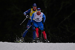 SPITCYN Filipp Guide BASIUK Zhorzh, RUS at the 2014 IPC Nordic Skiing World Cup Finals - Long Distance