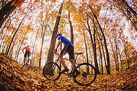 Man Mountain Biking in Blue Ridge Mountains Mountain biking in the Blue Ridge Mountains. Mountain biking man, woman, kids in virgina, north carolina, montana, and california.