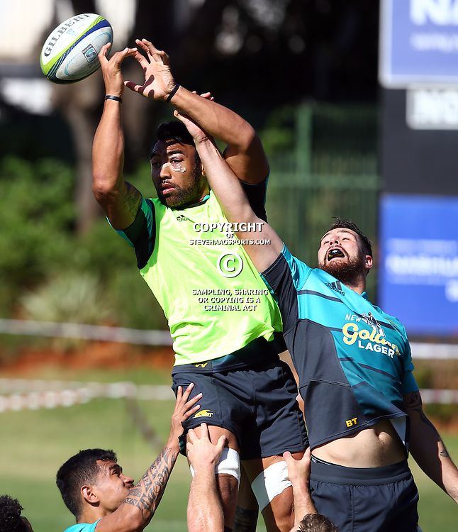 DURBAN, SOUTH AFRICA, 3, May 2016 - Victor Vito during the Hurricanes training session held at Northwood School Durban North , (Photographer Steve Haag) <br /> <br /> Images for social media must have consent from Steve Haag