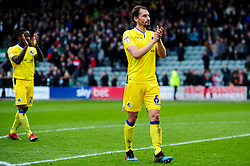 Edward Upson of Bristol Rovers after the final whistle of the match - Mandatory by-line: Ryan Hiscott/JMP - 23/03/2019 - FOOTBALL - Home Park - Plymouth, England - Plymouth Argyle v Bristol Rovers - Sky Bet League One