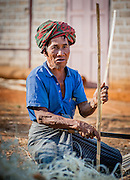 Farmer with turban (Myanmar)