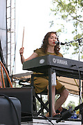 Regina Spektor performs during the third day of the 2007 Bonnaroo Music & Arts Festival on June 16, 2007 in Manchester, Tennessee. The four-day music festival features a variety of musical acts, arts and comedians..Photo by Bryan Rinnert.
