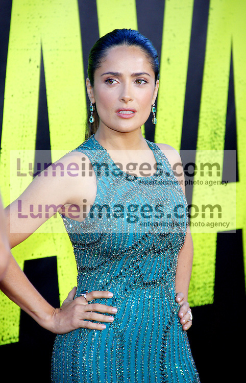 "Salma Hayek at the Los Angeles premiere of 'Savages"" held at the Mann Village Theatre in Westwood on June 25, 2012. Credit: Lumeimages.com"