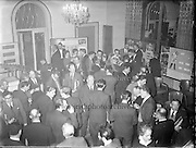 Dexion Reception at the  Royal Hibernian Hotel.<br /> 24.03.1961