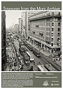 Streetcar Traffic along Market Street | March 20, 1940