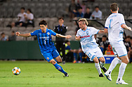 SYDNEY, NSW - MARCH 06: Ulsan Hyundai FC player Kim Insung (7) chases the ball at AFC Champions League Soccer between Sydney FC and Ulsan Hyundai FC on March 06, 2019 at Netstrata Jubilee Stadium, NSW. (Photo by Speed Media/Icon Sportswire)