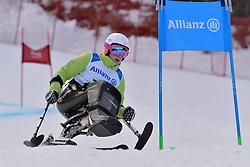 SLIVNIK Jernej LW12-1 SLO at 2018 World Para Alpine Skiing Cup, Kranjska Gora, Slovenia