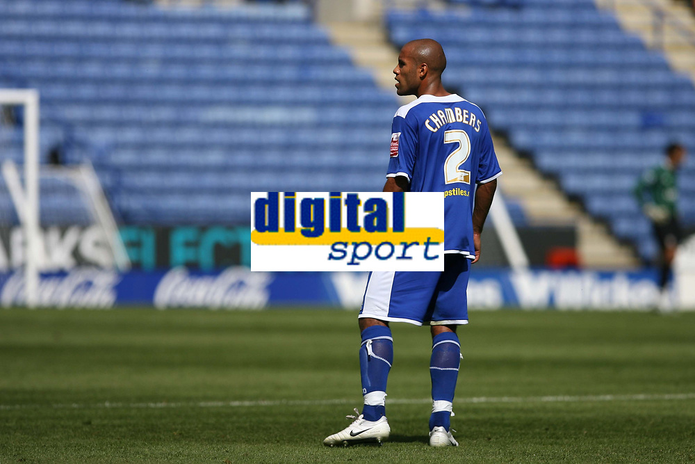 Photo: Pete Lorence.<br />Leicester City v Portsmouth. Pre Season Friendly. 04/08/2007.<br />James Chambers during the match.