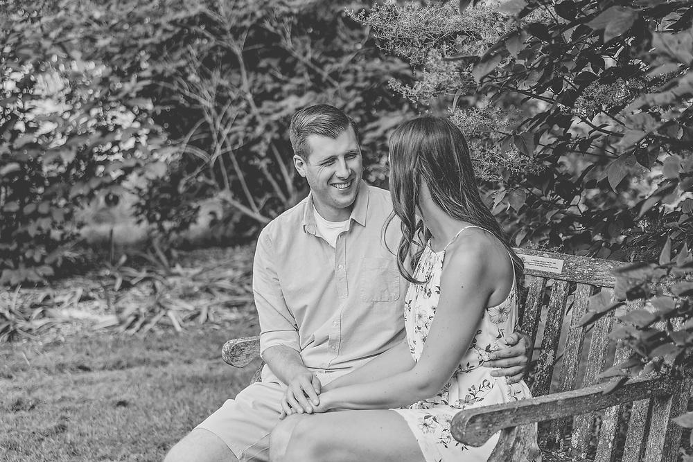 Megan & Tanner's Hot Summer Engagement