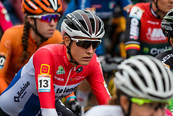 BRAND Lucinda (NED) before the Women Elite race, 2019 UCI Cyclo-cross World Cup Heusden-Zolder, Belgium, 26 December 2019. <br /> <br /> Photo by Pim Nijland / PelotonPhotos.com <br /> <br /> All photos usage must carry mandatory copyright credit (Peloton Photos | Pim Nijland)