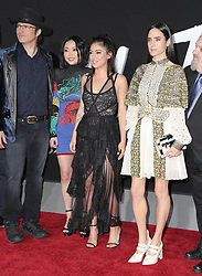 Celebrities attend the premiere of 20th Century Fox's 'Alita: Battle Angel' at Westwood Regency Theater on February 05, 2019 in Los Angeles, California. 05 Feb 2019 Pictured: Robert Rodriguez, Lana Condor, Rosa Salazar, Jennifer Connelly. Photo credit: @parisamichelle / MEGA TheMegaAgency.com +1 888 505 6342