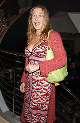 SOPHIE CONRAN at the Harpers and Moet Restaurant Awards 2005 held at Floridita, Wardour Street, London W1 on 31st October 2005.<br /><br />NON EXCLUSIVE - WORLD RIGHTS