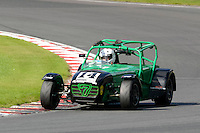 #14 Luke Browes Caterham Superlight R300-S during the BookaTrack.com Caterham Superlight R300 Championship at Oulton Park, Little Budworth, Cheshire, United Kingdom. August 13 2016. World Copyright Peter Taylor/PSP.