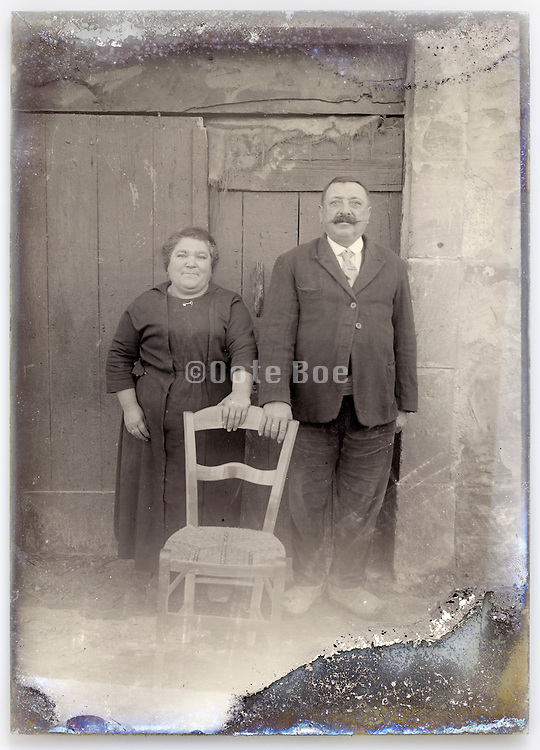 eroding glass plate with couple