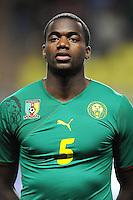 Fussball International, Italienische Nationalmannschaft  Italien - Kamerun 03.03.2010 Sebastien Bassong (Kamerun)