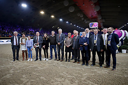 Afscheid Lucien Somers als Parcourbouwer van Jumping Mechelen<br />