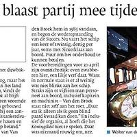 April 2013, Eindhoven dagblad, serie in aanloop naar Koningsdag 2013