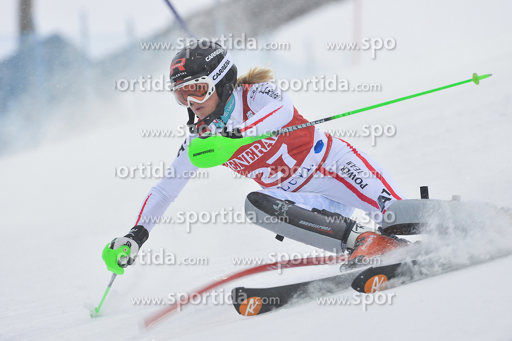 10.11.2012, Levi Black, Levi, FIN, FIS Ski Alpin Weltcup, Slalom, Damen, 1. Durchgang, im Bild Alexandra Daum (AUT) // Alexandra Daum of Austria during 1st run of ladies Slalom of FIS ski alpine world cup at Levi Black course in Levi, Finland on 2012/11/10. EXPA Pictures © 2012, PhotoCredit: EXPA/ sportbild.se/ Nisse Schmidt..***** ATTENTION - OUT OF SWE *****