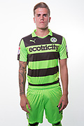 Forest Green Rovers Charlie Cooper(15) during the Forest Green Rovers Photocall at the New Lawn, Forest Green, United Kingdom on 31 July 2017. Photo by Shane Healey.