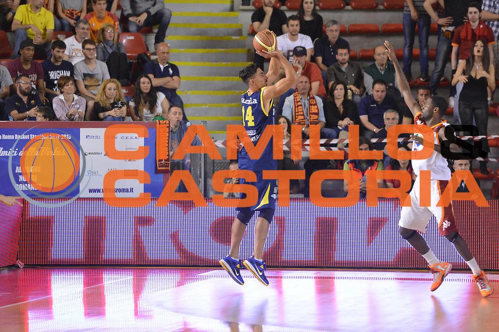 DESCRIZIONE : Roma Lega A 2012-2013 Acea Roma Sutor Montegranaro<br /> GIOCATORE : Mazzola Valerio<br /> CATEGORIA : controcampo three points<br /> SQUADRA : Sutor Montegranaro<br /> EVENTO : Campionato Lega A 2012-2013 <br /> GARA : Acea Roma Sutor Montegranaro<br /> DATA : 05/05/2013<br /> SPORT : Pallacanestro <br /> AUTORE : Agenzia Ciamillo-Castoria/ GiulioCiamillo<br /> Galleria : Lega Basket A 2012-2013  <br /> Fotonotizia : Roma Lega A 2012-2013 Acea Roma Sutor Montegranaro<br /> Predefinita :