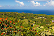 Maui, Hawaii.  The view from the Wailua lookout along the Road to Hana.