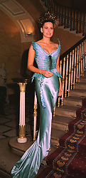 Fashion designer ISABEL KRISTENSEN at a party in London on 30th January 1999.MNP 100