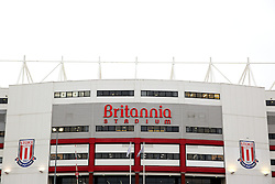 A general view of the Britannia Stadium  - Mandatory byline: Matt McNulty/JMP - 17/01/2016 - FOOTBALL - Britannia Stadium - Stoke, England - Stoke City v Arsenal - Barclays Premier League