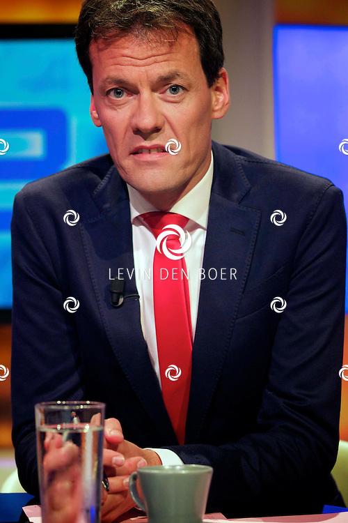 HILVERSUM - Het nieuwe seizoen Knevel en Van den Brink bij de EO is weer van start gegaan. Met hier op de foto  Thijs van den Brink. FOTO LEVIN DEN BOER - PERSFOTO.NU