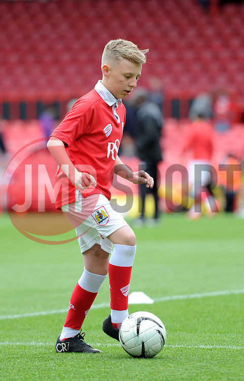 Mascot at Ashton Gate for the Sky Bet League One game between Bristol City and Walsall on 3 May 2015 in Bristol, England - Photo mandatory by-line: Paul Knight/JMP - Mobile: 07966 386802 - 03/05/2015 - SPORT - Football - Bristol - Ashton Gate Stadium - Bristol City v Walsall - Sky Bet League One