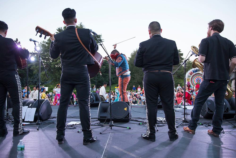NYBG Concert Canciones de mi Padre with Ernesto Villalobos and Gizel Xanath on June 18, 2016 (Photo by Ben Hider)
