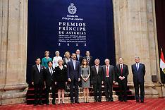OCT 26 2012 Asturias Awards Laureates