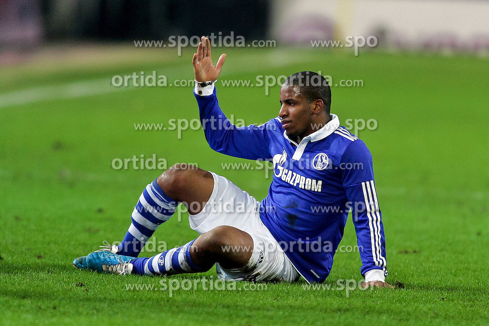 04.02.2011,  Signal Iduna Park, Dortmund, GER, 1.FBL, Borussia Dortmund vs Schalke 04, 21. Spieltag, im Bild: Jefferson Farfan (Schalke #17)   EXPA Pictures © 2011, PhotoCredit: EXPA/ nph/  Mueller       ****** out of GER / SWE / CRO  / BEL ******