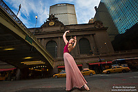 42nd Street Grand Central Station Met Life Building Dance As Art Ballerina Briony West. The New York City Photography Project