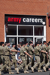 © Licensed to London News Pictures. 05/07/12. FILE PICTURE The Army is to lose 17 major units in the biggest overhaul of the service for decades it was announced today. Picture credit should read Manu Palomeque/London News Pictures