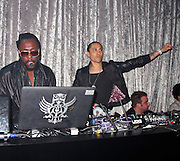 Will.i.am and Taboo of Black Eyed Peas Band..Will.i.am DJ for two hours after his Concert..Black Eyed Peas Post Concert Party..3P4 Nightclub..Sao Paulo, SP, Brazil..Thursday, November 04, 2010..Photo By iSnaper.com/ CelebrityVibe.com.To license this image please call (212) 410 5354; or Email: CelebrityVibe@gmail.com ; .website: www.CelebrityVibe.com.