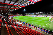 Goldsands Stadium before the Barclays Premier League match between Bournemouth and West Ham United at the Goldsands Stadium, Bournemouth, England on 12 January 2016. Photo by Graham Hunt.
