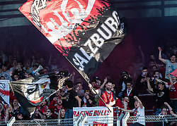 07.04.2019, TGW Arena, Pasching, AUT, 1. FBL, LASK vs FC Red Bull Salzburg, Meistergruppe, 24. Spieltag, im Bild Red Bull Salzburg Fans // during the tipico Bundesliga Master group, 24th round match between LASK and FC Red Bull Salzburg at the TGW Arena in Pasching, Austria on 2019/04/07. EXPA Pictures © 2019, PhotoCredit: EXPA/ Reinhard Eisenbauer