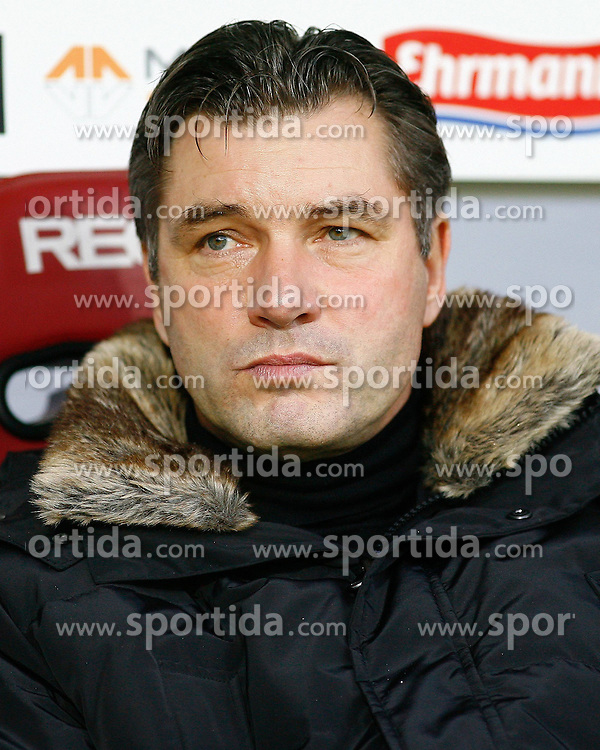 17.12.2011, Badenova Stadion, Freiburg, GER, 1.FBL, SC Freiburg vs BvB Borussia Dortmund, Michael ZORC, Sportdirektor Borussia Dortmund, Portrait, Porträt // during the match from GER, 1.FBL, SC Freiburg vs BvB Borussia Dortmund on 2011/12/17, Badenova Stadion, Freiburg, Germany.Foto © nph/ A.Huber..***** ATTENTION - OUT OF GER, CRO *****