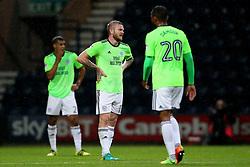Cardiff City's Aron Gunnarsson looks dejected after conceding - Mandatory by-line: Matt McNulty/JMP - 12/09/2017 - FOOTBALL - Deepdale Stadium - Preston, England - Preston North End v Cardiff City - SkyBet Championship