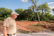 Mike Klumpp has worked several years building the ATV safety program in Oklahoma and the new building and training grounds are under construction in Guthrie Oklahoma.